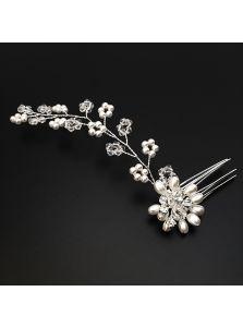 Гребень-повязка - Жемчужные цветы