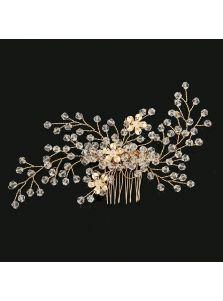 Гребень - Цветочный хрусталь