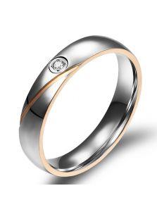 Кольца для двоих - С кристаллом