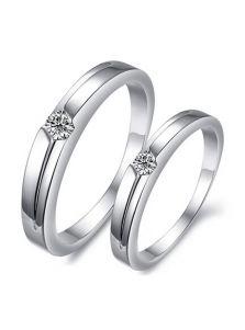 Кольца для влюбленных - С камушком