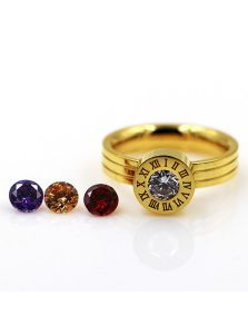 Кольцо Bvlgari - Со сменными камнями
