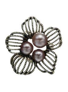 Кольцо для платка - Цветик