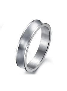 Кольцо из стали - Изогнутое
