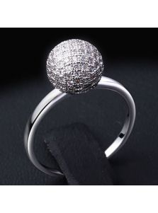 Кольцо - Каменный шар