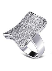Кольцо - Кристальная пластина