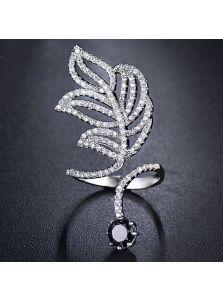 Кольцо - Кристальная веточка