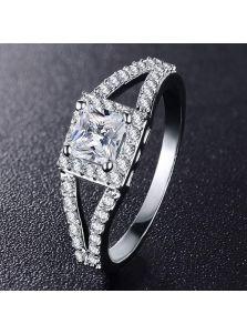 Кольцо - Квадратная деталь