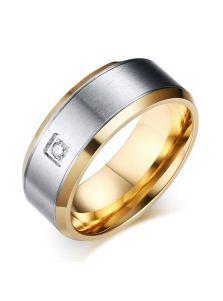 Кольцо - Матовая сталь