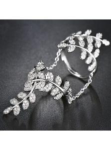 Кольцо на фаланги - Деликатный орнамент