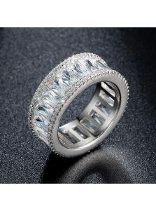 Кольцо - Продолговатый камень