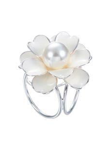 Кольцо-зажим - Цветок