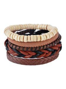 Комплект браслетов - Этно