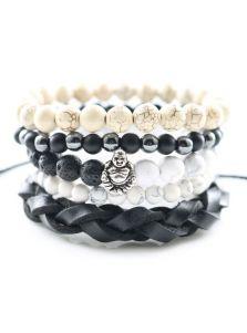 Комплект браслетов - Монах и кобра