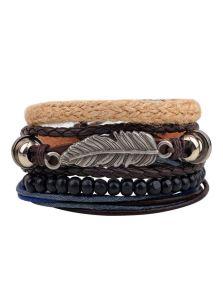 Комплект браслетов - Перо