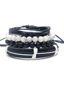 Комплект браслетов - С бирюзой