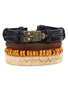 Комплект браслетов - Сова