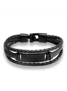 Кожаный браслет - Армор
