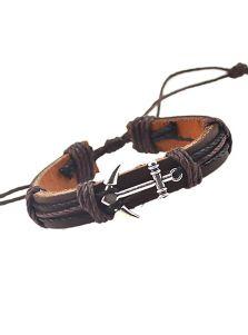 Кожаный браслет - Атлантический
