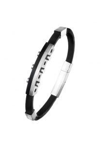 Кожаный браслет - Бастион