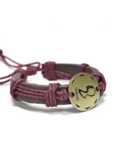 Кожаный браслет - Близнецы