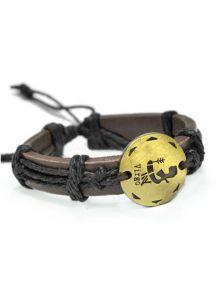 Кожаный браслет - Дева