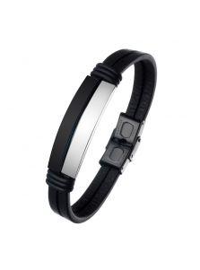 Кожаный браслет - Электро