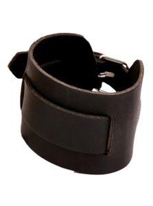 Кожаный браслет - Гладкая кожа