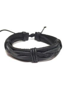 Кожаный браслет - Гюрза