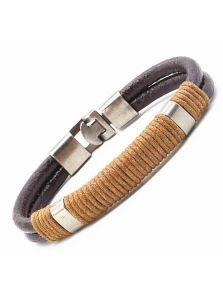 Кожаный браслет - Хэлси