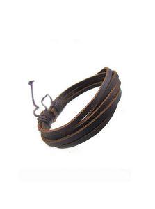 Кожаный браслет - Строгий