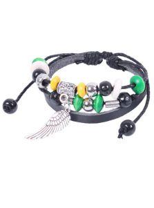 Кожаный браслет - Крыло