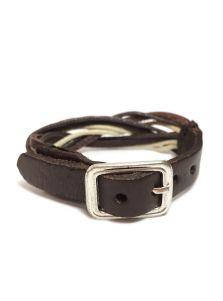 Кожаный браслет - Локи