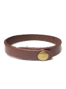 Кожаный браслет - Минималистичный