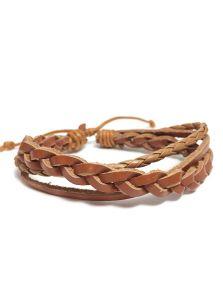 Кожаный браслет - Песчаная эфа