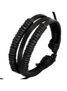 Кожаный браслет - Шайена