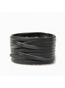 Кожаный браслет - Широкий