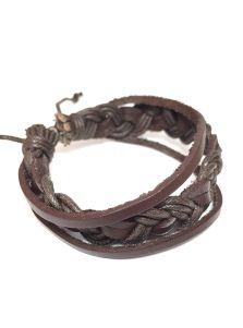Кожаный браслет - Сиу