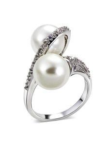 Крупное кольцо - Жемчужный захват