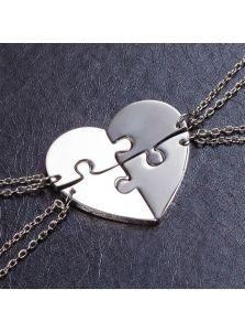 Кулон сердце - Для четверых