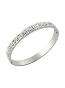 Литой браслет - Женственный