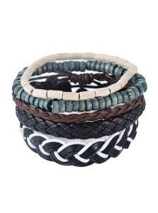 Многоуровневый браслет - Плетеные детали