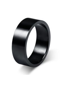 Мужское кольцо - Однотонное