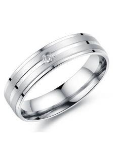 Мужское кольцо - С камнем