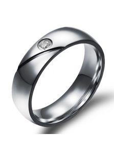 Мужское кольцо - С кристаллом
