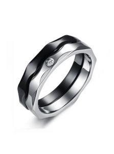 Мужское кольцо - Сдвоенное