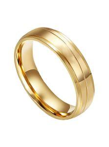 Мужское кольцо - Строгое