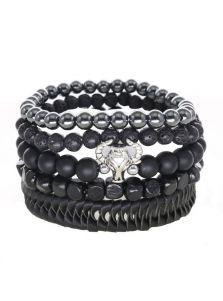 Набор браслетов - Из натуральных камней