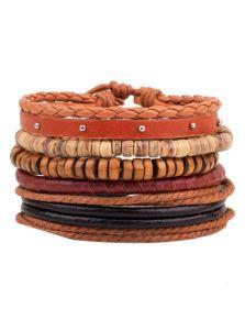 Набор браслетов - Хиппи