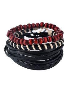 Набор браслетов - Красочные бусины