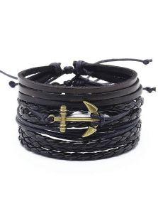 Набор браслетов - Якорь